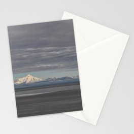 Stormy Clouds over the Cook Inlet Stationery Cards