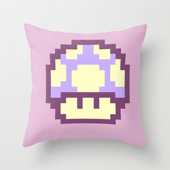 Mushy 3 Throw Pillow