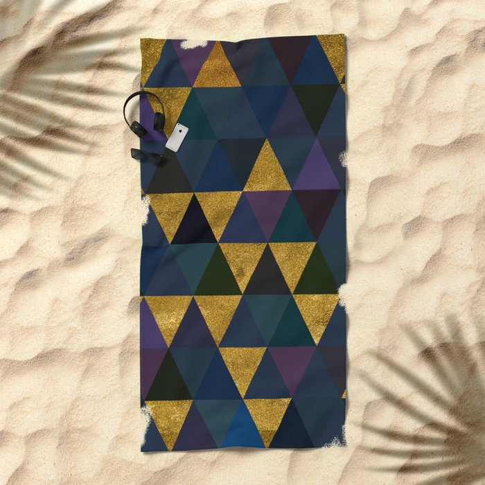 Abstract #318 Beach Towel