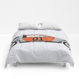 Back to the Body Shop Comforters