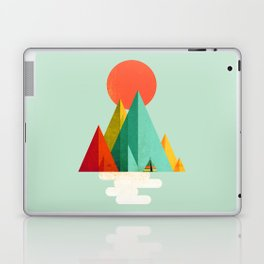 Little Geometric Tipi Laptop & iPad Skin