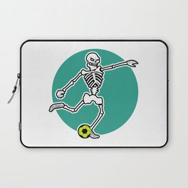 Calavera Soccer Laptop Sleeve
