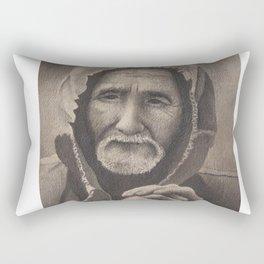 Old Man Rectangular Pillow