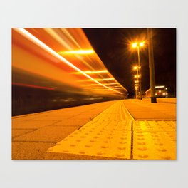 Train from Ulm Canvas Print
