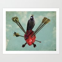 arrows Art Prints featuring Arrows by Seamless