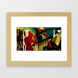 Wreckless Tonight Framed Art Print