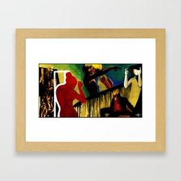 Wreckless Tonight Framed Art Print
