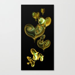 Herzchen I Canvas Print