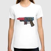 sci fi T-shirts featuring Sci-Fi Raygun by mFerbrache
