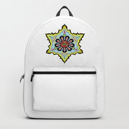 Alright linda belcher mandala kaleidoscope Backpack