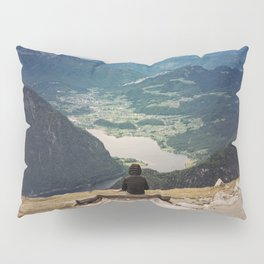 View of the valley Pillow Sham