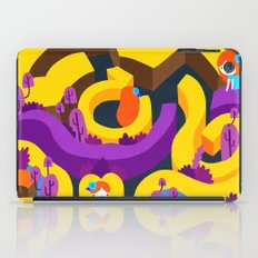 Love is a riddle. iPad Case