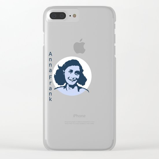 Anne Frank Clear iPhone Case