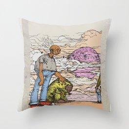 stick em up Throw Pillow
