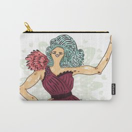 Let the best WOMAN win! Carry-All Pouch