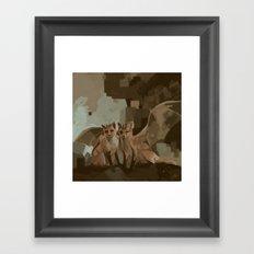 Foxdragons Framed Art Print