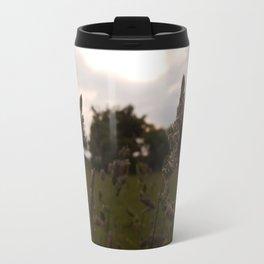 Sunset over the Wild Grass Travel Mug