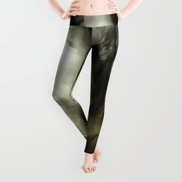 Soft And Gentle Fur And Purr Of A Grey Cat Leggings