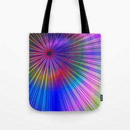 Pastel burst Tote Bag