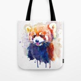Red Panda Portrait Tote Bag