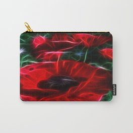 I love poppies Carry-All Pouch