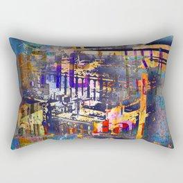 New York City Abstract Artist Gift 3 Rectangular Pillow