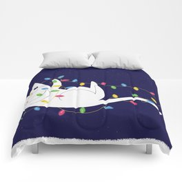 Playful Cat Comforters