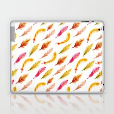 colorful feather pattern Laptop & iPad Skin