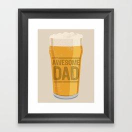 DAD Framed Art Print