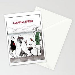 Canadian Spring Stationery Cards