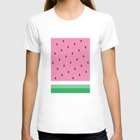 watermelon T-shirts featuring Watermelon by Anna Lindner