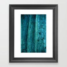 three trees  Framed Art Print