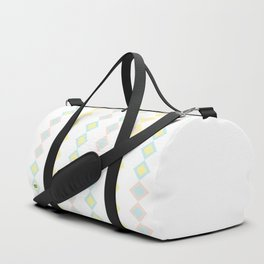 Pastel Square #kirovair #design #minimal #society6 #buyart #abstract Duffle Bag