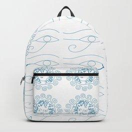 Line art mythological folklore Backpack