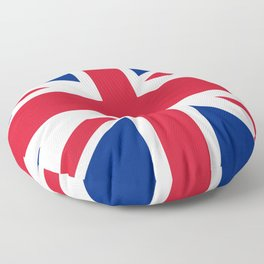 British Flag Floor Pillow