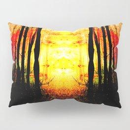 Path To Imagination Golden Pillow Sham