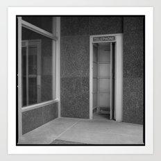 telephone 1 Art Print