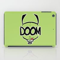 doom iPad Cases featuring DOOM by Oddworld Art