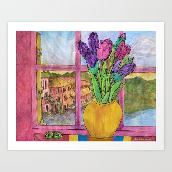 Bella Italia Art Print