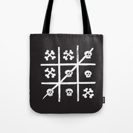 Skull + Bones Tote Bag