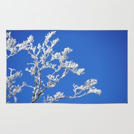 Frosted Branches Rug