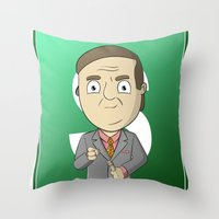better call saul Throw Pillows featuring Better Call Saul! by Brandon Juarez