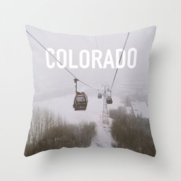 Colorado. Throw Pillow