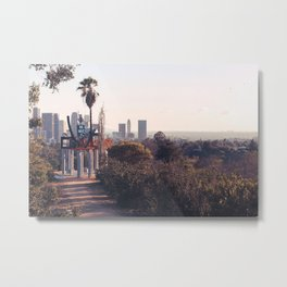 Angels Point Sunset Metal Print