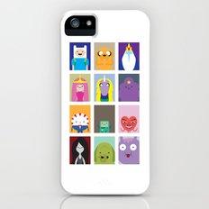Minimalist Adventure Time Poster iPhone SE Slim Case
