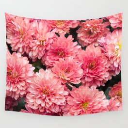 Autumn Kiss Chrysanthemums #1 #floral #art #Society6 Wall Tapestry
