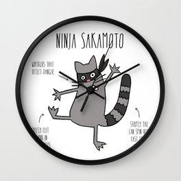 Ninja Sakamoto Wall Clock