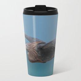 Perfect Flight Blue Heron Travel Mug
