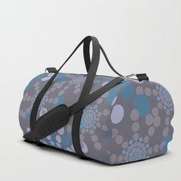 Radiating Dots Duffle Bag