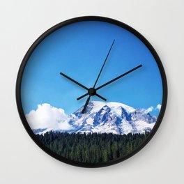 Mount Rainier, Washington Wall Clock
